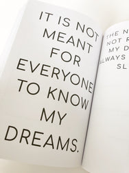 With My Dreams Journal (Dream Journal)