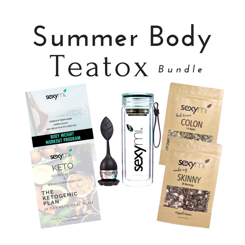 Summer Body Teatox Bundle - BEST Detox Tea on the market!