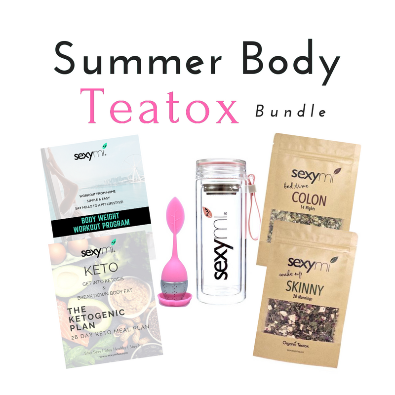 Summer Body Teatox Bundle - BEST Detox Tea on the market! - sexymi Tea