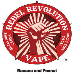 Rebel Revolution Vape - Banana and Peanut Republic