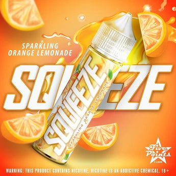 Five Points E-Liquids - Squeeze Orange