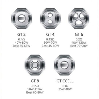 Vaporesso GT Replacement Coils (1PC)