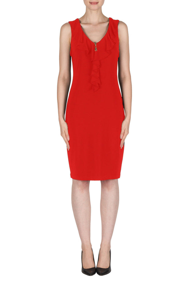Joseph Ribkoff Dress Style 181027RED modella-signature