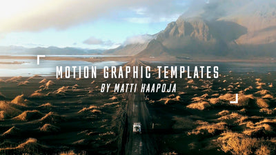 Cinematic Motion Graphic Templates