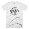 "INSPIRE TRAVEL LEARN T SHIRT - ""The Classic"" [WHITE]"