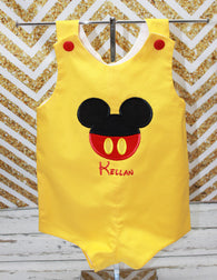 Boys Mickey Jon,Boys First Disney Trip Jon,Boys Vacation Clothes Jon,Applique Embroidered Jon