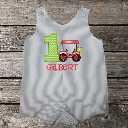 Boys Birthday Golf Cart Jon,Boys Golf Birthday Jon,Boys Birthday Jon,First Birthday Jon,Applique Embroidered Jon
