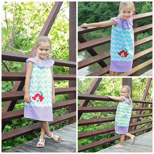 Arial Girls Dress,Girls Birthday Dress,Girls Party Dress,Girls Peasant Dress