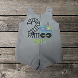 Boys Birthday Train Jon,Boys Birthday Jon,First Birthday Jon,Applique Embroidered Jon