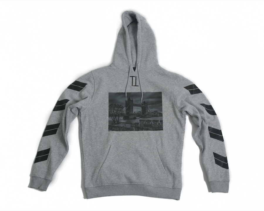 Grey Bridge TenToes Hoodie
