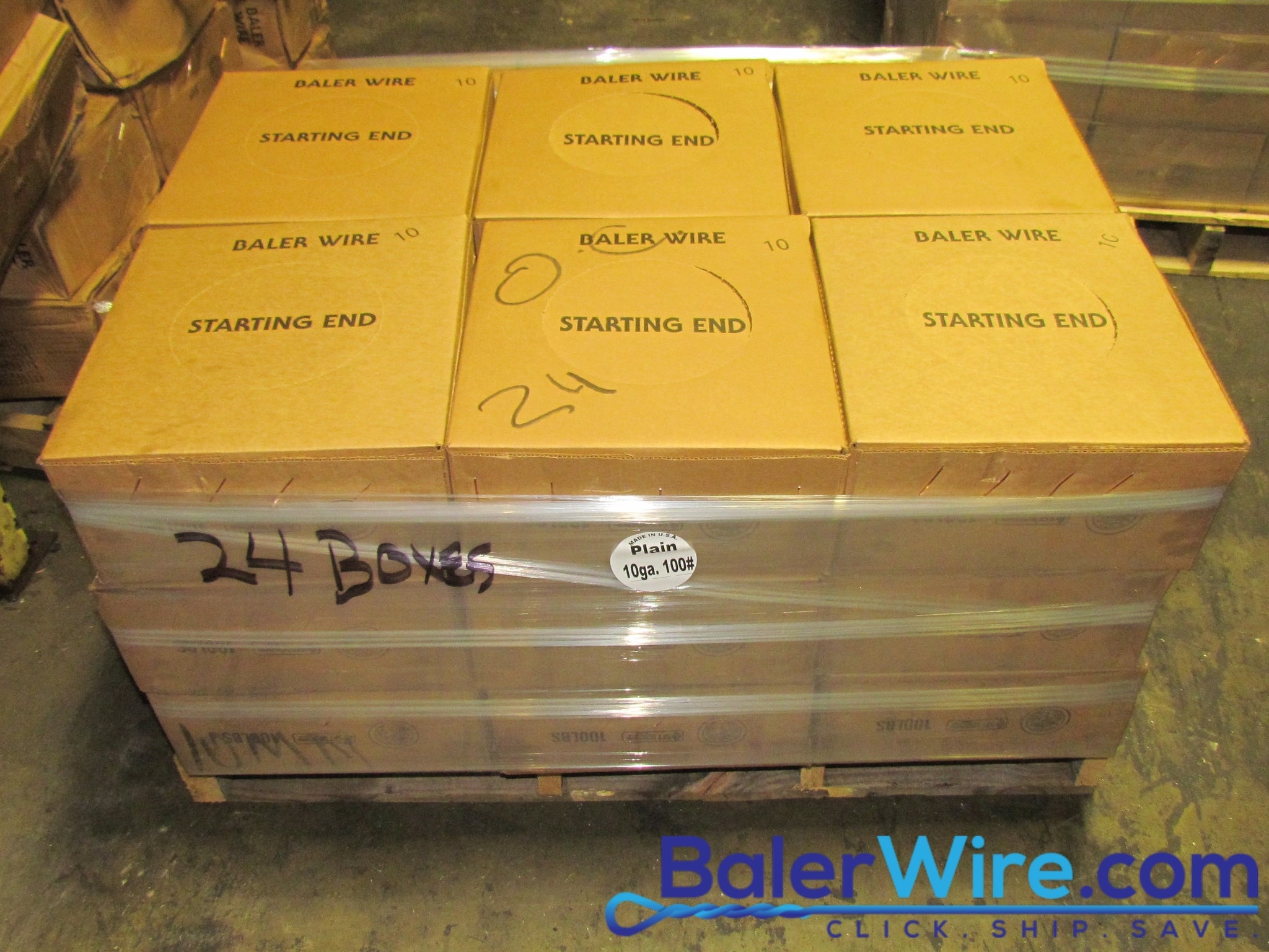 10 Gauge Black Annealed Box and Baling Wire | BalerWire.com