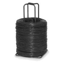 15 Gauge Auto Tie Black Annealed Stem Wire - BalerWire.com