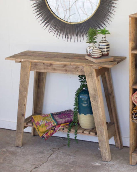 Rustic Slatted Table