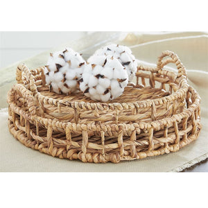 Round Hyacinth Basket