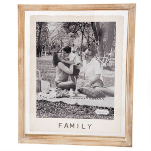 LARGE FAMILY GLASS FRAME
