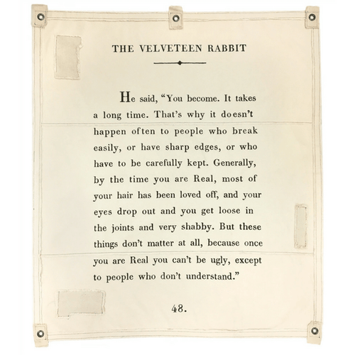 Wall Tarp - The Velveteen Rabbit