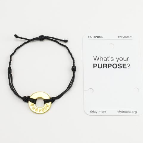 What's Your Word Bracelet- PURPOSE