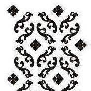 Stencil - Parisian Scroll Allover