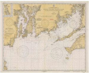 Marthas Vineyard to Block Island 1934