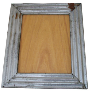 RUSTY ROOF TIN FRAME