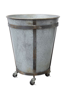 Metal Container on Casters