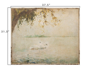 PREORDER Swan Framed Photo