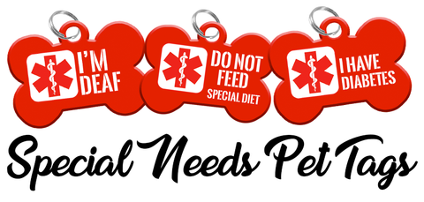 Special Need Dog ID Tag