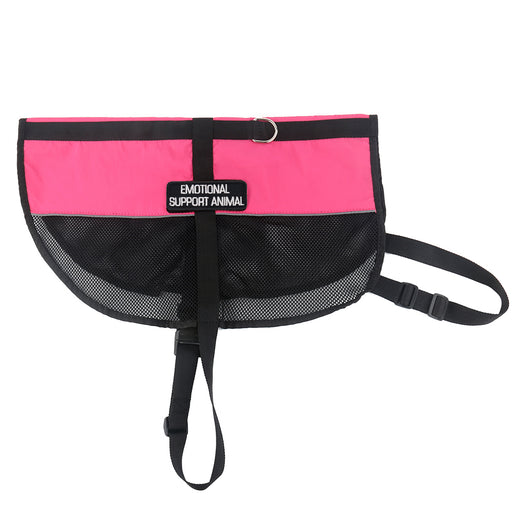 Emotional Support Animal Vest - Pink Mesh Harness [Multiple Sizes] - EliteFanCo