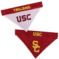 USC Trojans NCAA Reversible Bandana (Home side & Away side) for Dog (2 Sizes Available)
