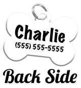 Halloween Double-Sided Dog Tag for Pets Personalized Custom Pet Tag with Pets Name & Contact Number on the back [USA COMPANY]