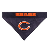 Chicago Bears NFL Reversible Bandana (Home side & Away side) for Dog (2 Sizes Available) - EliteFanCo
