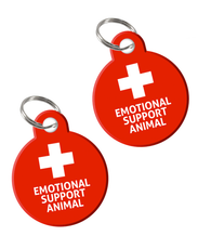 High Quality Emotional Support Animal (ESA) ID Tag (2 Tags included) | ElitePetFan.com