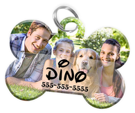 Create Your Own Custom Pet ID Tag for Dog with Pets Name, Contact Number & Custom Background | ElitePetFan.com