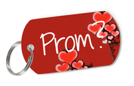 Prom? Cute Pet ID Tag for Dog