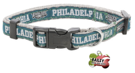 Philadelphia Eagles Football Pet Dog or Cat Collar with FREE Personalized ID Dog Tag with Name & Number [Multiple Collar Sizes Avl: S,M,L]