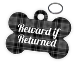 Reward for Return Pet Tag