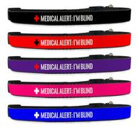 Adjustable Blind Dog Collar Alert for Pet [Multiple Sizes] - EliteFanCo