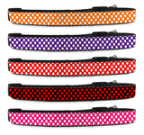 Polka Dot Adjustable Dog Collar for Pet (Small to Medium Dogs 12'-16' inch) (Large Dogs 16'-20' inch)