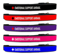 Emotional Support Animal Dog Collar [Multiple Sizes] [Therapy Dog] [ESA] | ElitePetFan.com