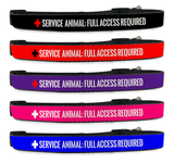 Adjustable Service Animal Full Access Required Dog Collar [Multiple Sizes] - EliteFanCo