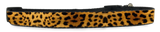 Leopard Print Adjustable Dog Collar (Small to Medium Dogs 12'-16' inch) & (Large Dogs 16'-20' inch)