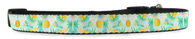 Tropical Adjustable Dog Collar (Small to Medium Dogs 12'-16' inch) & (Large Dogs 16'-20' inch)