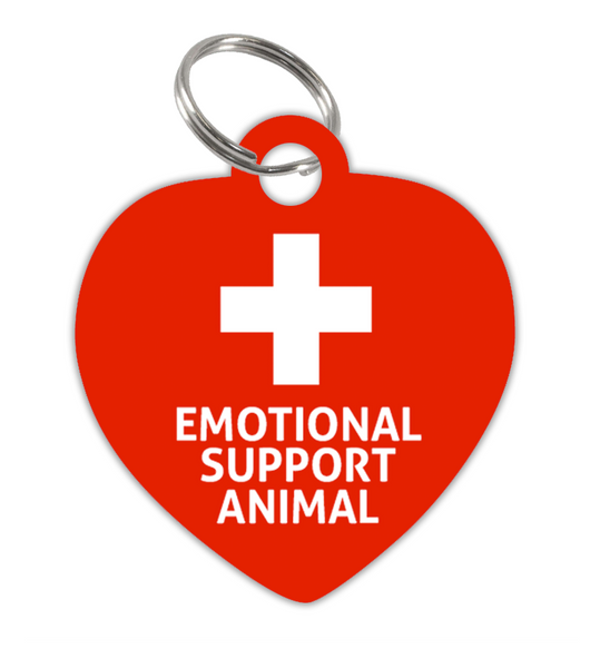 High Quality Emotional Support Animal (ESA) Pet ID Tag for Dog or Cat - EliteFanCo