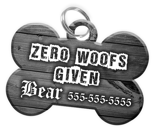 Dog ID Tag for Pets Personalized Custom Pet Tag with Pets Name & Contact Number [Multiple Font Choices] [USA COMPANY] | ElitePetFan.com