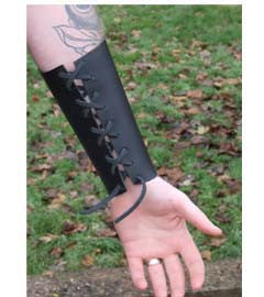 Forearm Leather Arm Gauntlet