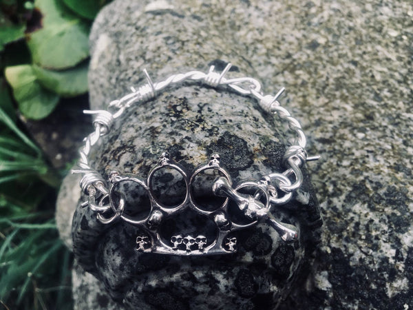 Barbed Knuckle Duster Bracelet