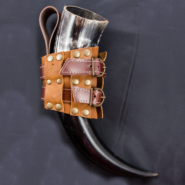Tan Leather Buckle Holster