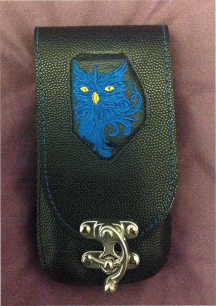 Blue Owl Mobile Phone Pouch