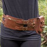Steampunk Double Strap - Brown (also available in Black)