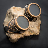 Cyber Goggles - Bronze Effect